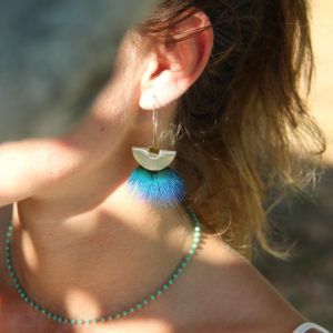 boucles d'oreilles palombaggia