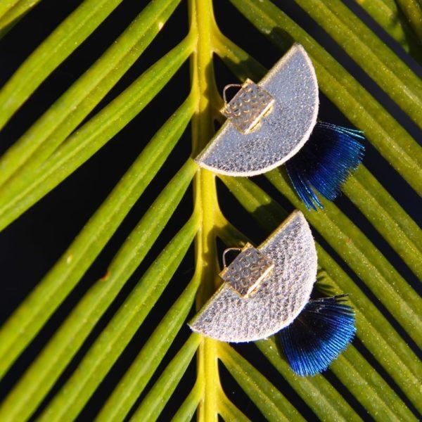 Santa Giulia boucles d'oreilles