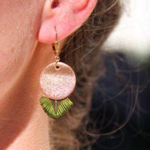Boucles d'oreille Quenza