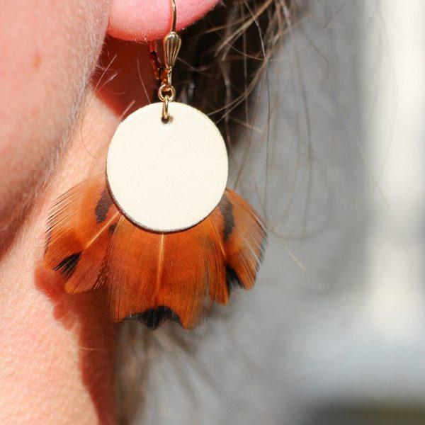 Boucle d'oreille bavedda