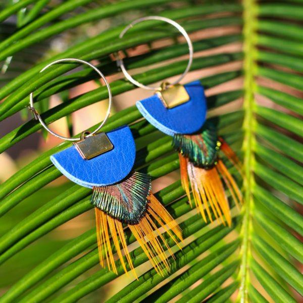 Boucles serra bleues
