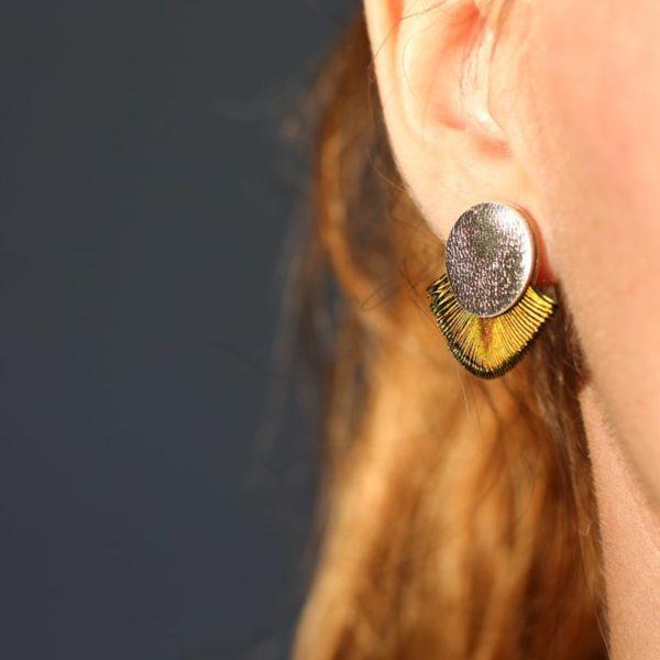 Boucles d'oreilles Tizza