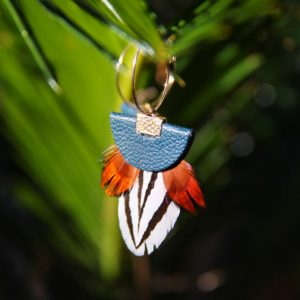 Boucle plumes faisan